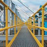 Composite GRP access walkways