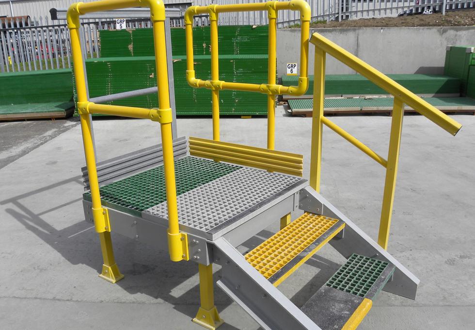 Portable Handrails For Steps Outside : Core grp handrails ladders