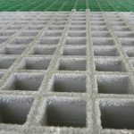 Square Mesh Moulded GRP Grating