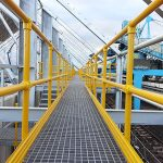 Composite GRP access walkways