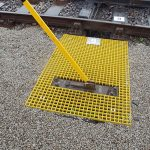 Moulded GRP Grating used for signal access points