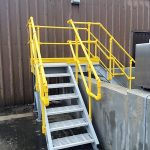 Fabricated GRP Structural Composite Access Platform