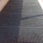 38mm Deep Moulded GRP Grating used in building risers
