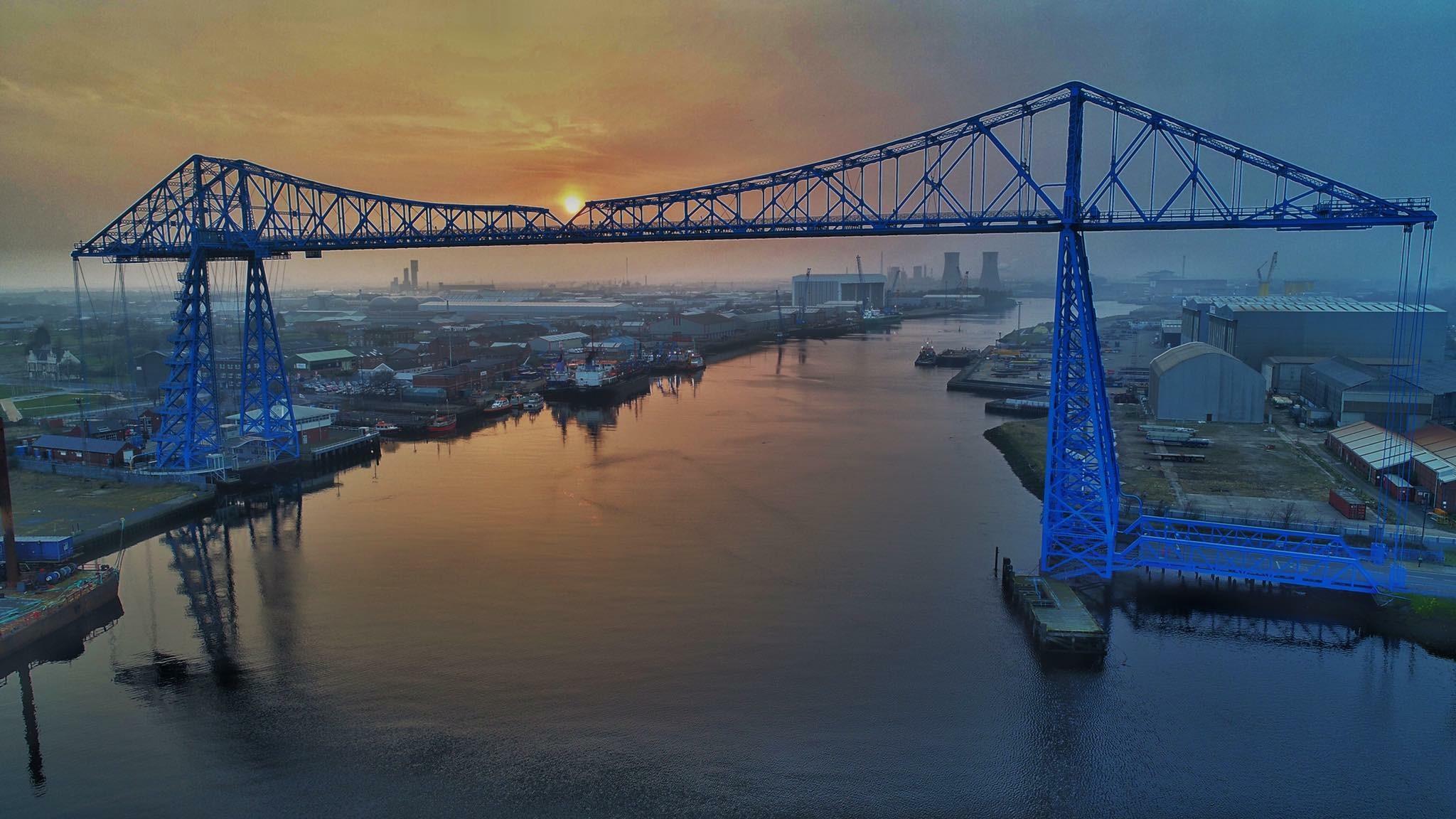 Middlesbrough Transporter Bridge Decking Core 6 Composites