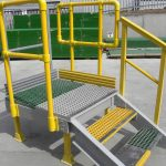 Fabricated GRP Steps & Handrails