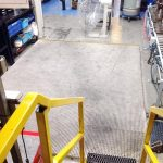 Moulded GRP Grating and edge ramps